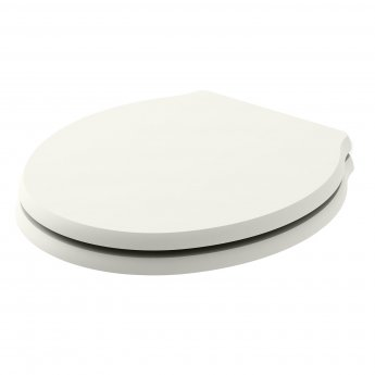 Bayswater Porchester Soft Close Toilet Seat Pointing White