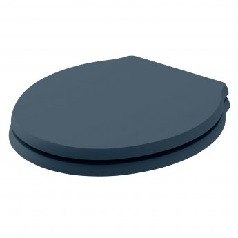 Bayswater Porchester Soft Close Toilet Seat Stiffkey Blue