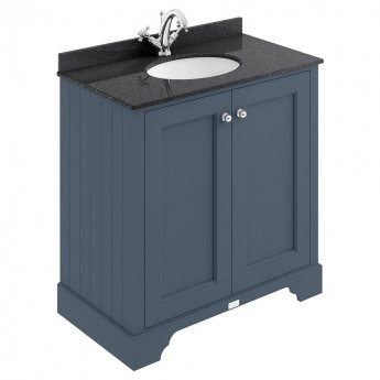 Bayswater Stiffkey Blue 2-Door Vanity Unit 800mm Wide (excluding Basin)