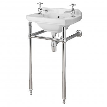 Bayswater Traditional Basin Frame/Wash Stand Chrome