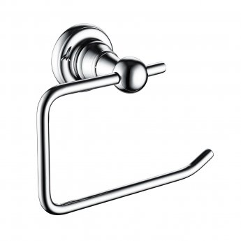 Bristan 1901 Brass Toilet Roll Holder, Chrome Plated