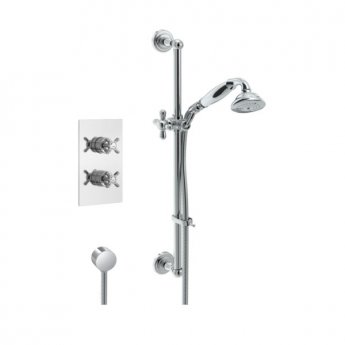 Bristan 1901 Dual Concealed Mixer Shower with Shower Kit