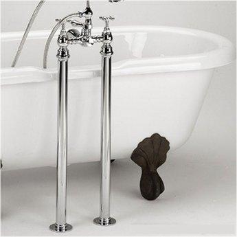 Bristan Freestanding Bath Shroud Covers - Chrome