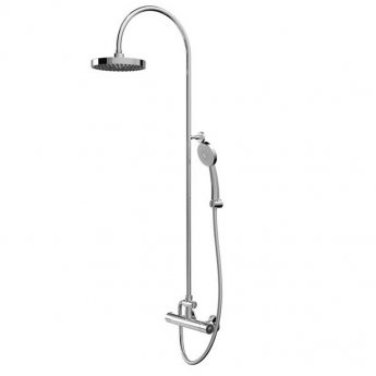 Bristan Buzz FastFit Bar Mixer Shower with Shower Kit + Fixed Head