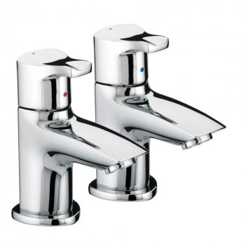 Bristan Capri Basin Taps - Chrome Plated