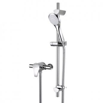 Bristan Capri Sequential Exposed Mixer Shower with Shower Kit