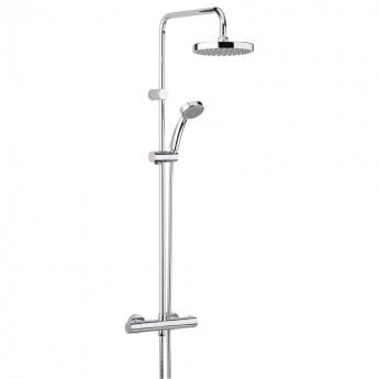 Bristan Carre FastFit Bar Mixer Shower with Shower Kit + Fixed Head