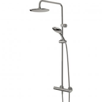 Bristan Claret FastFit Bar Mixer Shower with Shower Kit + Fixed Head