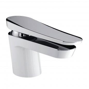 Bristan Claret Basin Mixer Tap, Deck Mounted, White