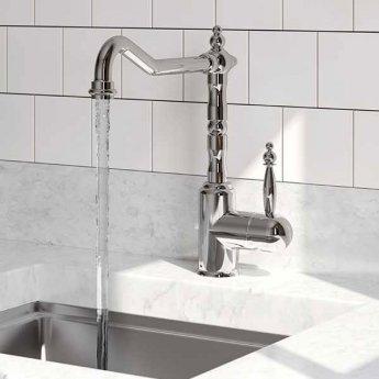 Bristan Colonial Single Lever Easyfit Kitchen Sink Mixer Tap - Chrome