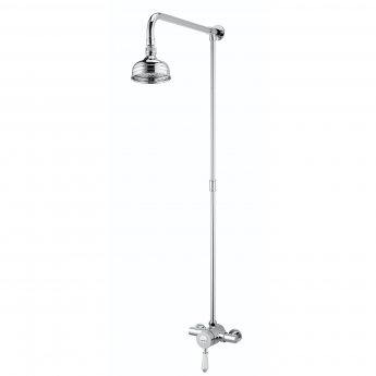 Bristan Colonial Sequential Exposed Mixer Shower with Shower Kit + Fixed Head