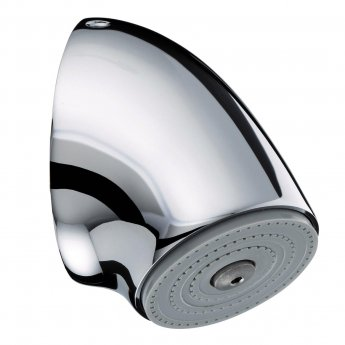 Bristan Commercial Vandal Resistant Fast Fit Fixed Shower Head, Chrome
