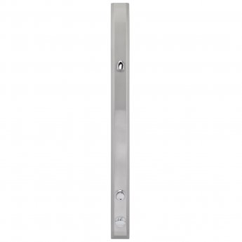 Bristan Commercial Fixed Temperature Timed Flow Shower Panel Vandal Resistant Head - Chrome