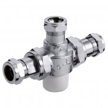 Bristan Commercial MT753 Thermostatic Mixing Valve, 22mm, Chrome