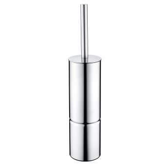 Bristan Free Standing Metal Toilet Brush and Holder, Chrome