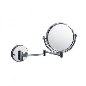 Bristan Wall Mounted Mirror - Chrome