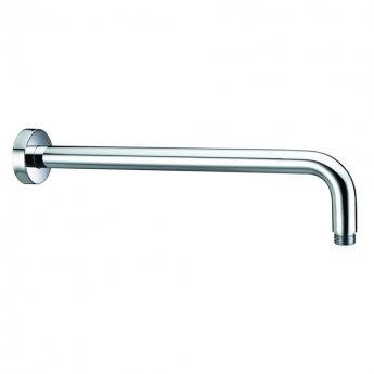 Bristan Modern Wall Mounted Shower Arm, 348mm Length, Chrome