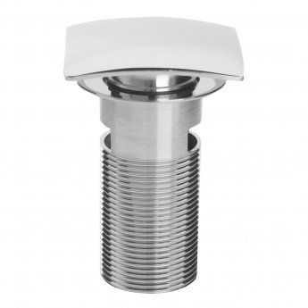 Bristan Square Clicker Basin Waste Chrome - Slotted