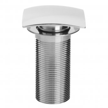 Bristan Square Clicker Basin Waste Chrome - Unslotted (For Basins with No Overflow)