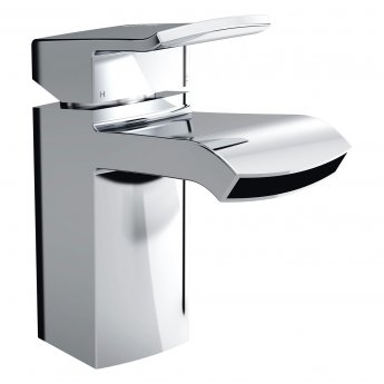 Bristan Descent Mono Bath Filler Tap, Deck Mounted, Chrome