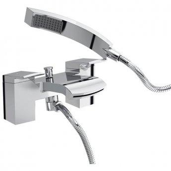Bristan Descent Bath Shower Mixer with Kit, Deck Mounted, Chrome