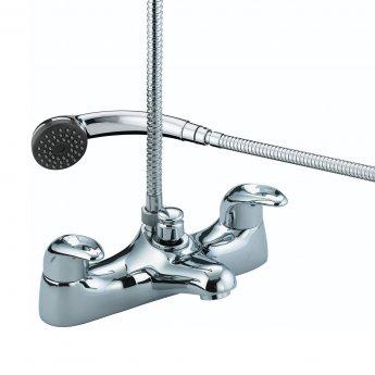 Bristan Java Bath Shower Mixer Tap - Chrome Plated