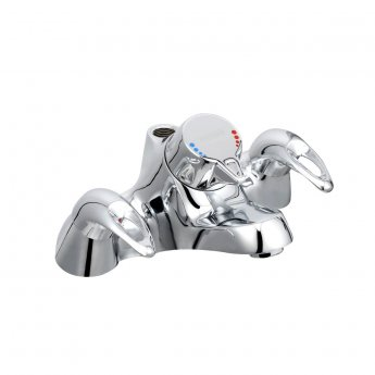 Bristan Java Bath Filler Tap with Thermostatic Shower - Chrome Plated