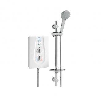 Bristan Joy Thermostatic Electric Shower, White, 9.5kW