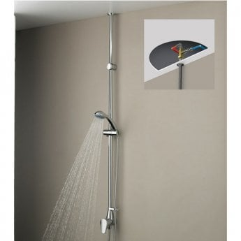 Bristan Jute Inline Exposed Mixer Shower with Shower Kit