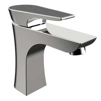 Bristan Metallix Hourglass 1 Hole Bath Filler Tap - Graphite Glisten