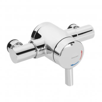Bristan OPAC Thermostatic Exposed Mini Shower Valve with Lever Handle - Chrome