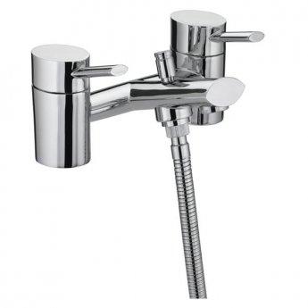 Bristan Oval Bath Shower Mixer Tap - Chrome Plated