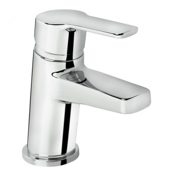 Bristan Pisa Basin Mixer Tap with Clicker Waste - Chrome