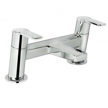 Bristan Pisa Bath Filler Tap Deck Mounted - Chrome