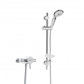 Bristan Prism Sequential Exposed Mixer Shower with Shower Kit