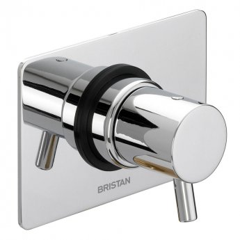 Bristan Prism Diverter Two Outlets Chrome Plated