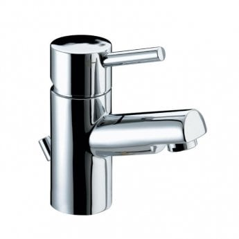 Bristan Prism Basin Mixer Tap with Eco-Click & Pop Up Waste - Chrome