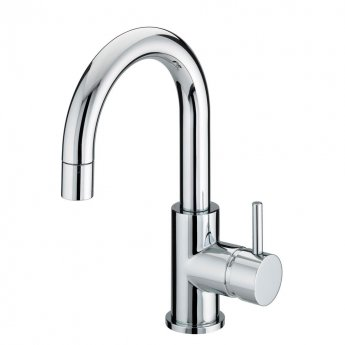 Bristan Prism Side Action Basin Mixer Tap with Pop Up Waste - Chrome Plated