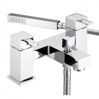 Bristan Quadrato Bath Shower Mixer Tap - Chrome