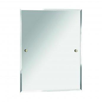 Bristan Rectangular Bathroom Mirror Comp Mrre G 550mm Wide Rectangular