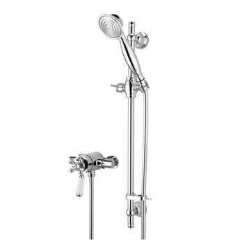 Bristan Regency Dual Exposed Mixer Shower with Shower Kit