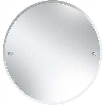 Bristan Round Bathroom Mirror 610mm - Chrome
