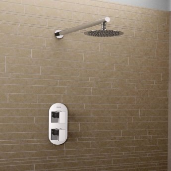 Bristan Sail Dual Concealed Mixer Shower with Fixed Head