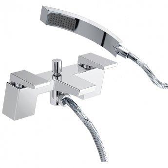 Bristan Sail Bath Shower Mixer Tap, Pillar Mounted, Chrome