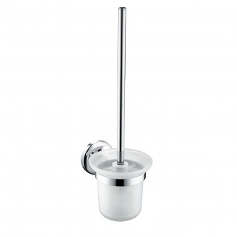 Bristan Solo Wall Hung Toilet Brush, Chrome Plated