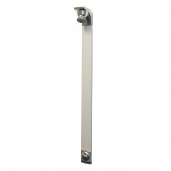 Bristan Timed Flow Shower Panel with Adjustable Head, Chrome/Satin
