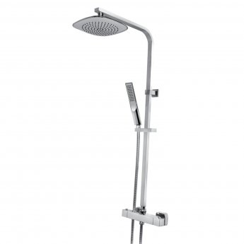 Bristan Trapeze Bar Mixer Shower with Shower Kit + Fixed Head