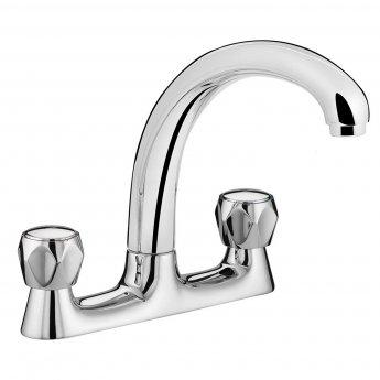 Bristan Value Club Kitchen Sink Mixer Tap, Deck Mounted, Chrome