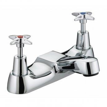 Bristan Value Crosshead Top Bath Filler Tap - Chrome Plated
