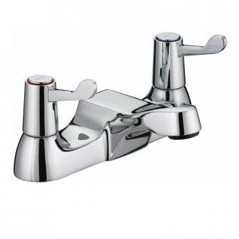 Bristan Value Lever Bath Filler Tap - Chrome Plated with Ceramic Disc Valves